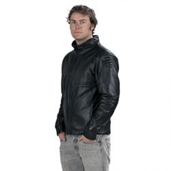 Leather Bellevarde ski jacket MS