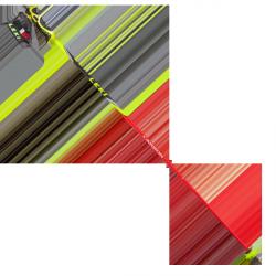 WolrdCup Lite Slalom junior's poles