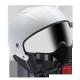 Ski helmet pilot + visor