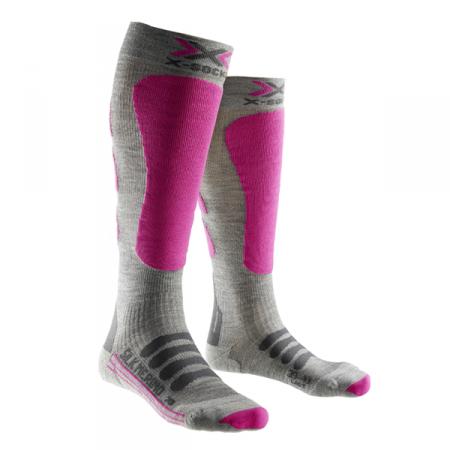 Chaussettes femme Mérino-soie