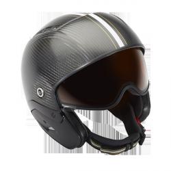 Casque de ski Pilot Carbon & visière photochromique