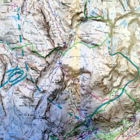 Heliskiing Val d'Isère to Bonneval sur Arc (4 pers max)