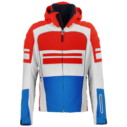 Race men's ski jacket