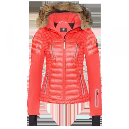 Veste fourrure femme ski