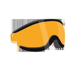 Visiere orange