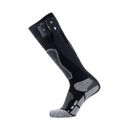 Heating ski socks