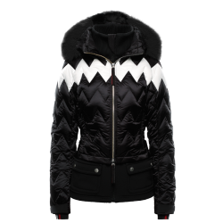Maria fur women's ski jacket special edition