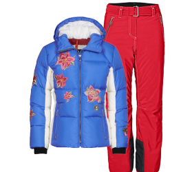 Leila-D girl's ski suit