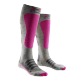 Chaussettes de ski femme Merino - soie