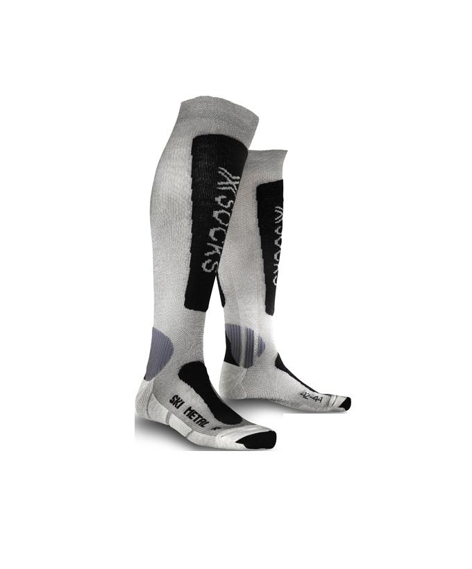 Metal men's ski socks