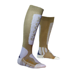 Metal women's ski socks