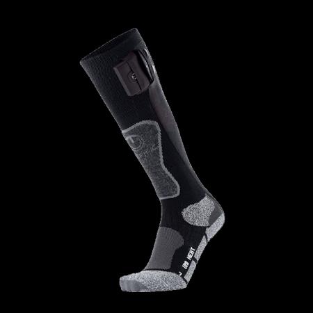 Heating ski socks