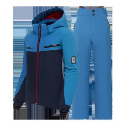 Swiss boy's ski suit