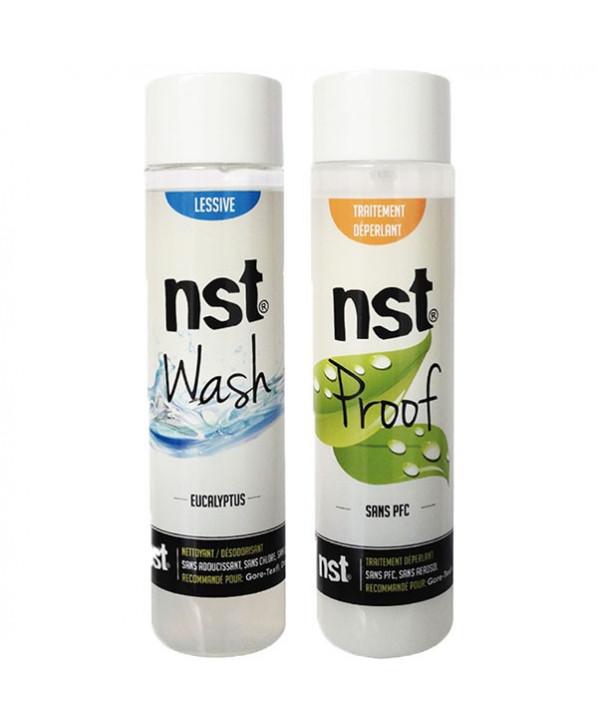 Pack Duo Lessive Wash 250ml + imperméabilisant Proof 250 ml