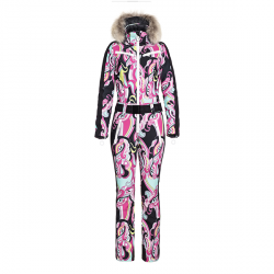 Combinaison de ski femme Glam & fourrure