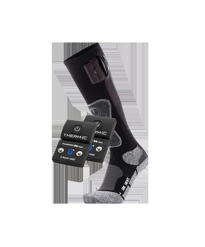 Pack chaussettes chauffantes + batterie 1400B Bluetooth