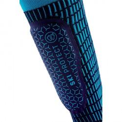Chaussettes de ski Protection tibias volume moyen