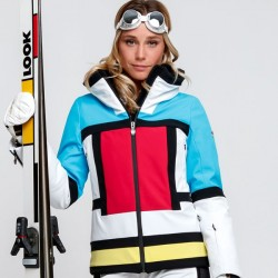 Postcard Ismail women's ski suit