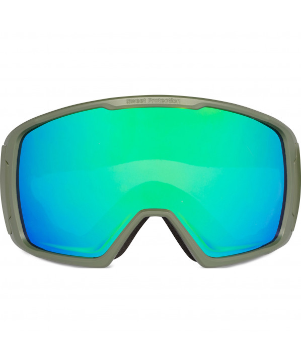Masque de ski Clockwork + visiere RIG emeralde