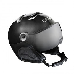 Casque de ski Chrome & visiere