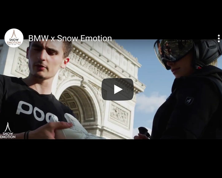 BMW partner of Snow Emotion